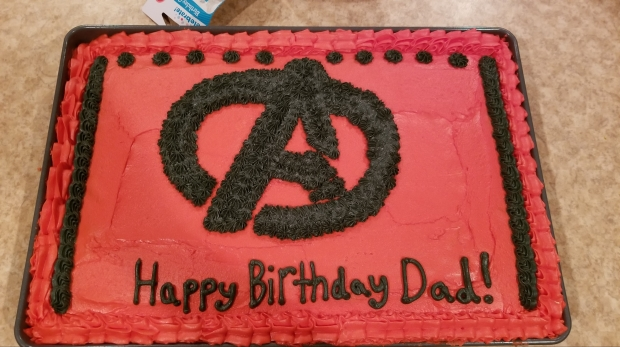 Dad's Birthday Cake!